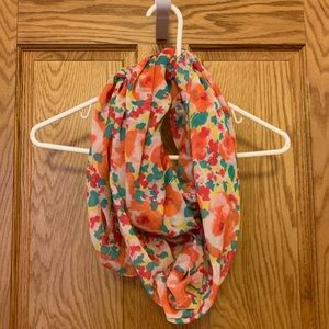 Aerie Floral Infinity Scarf
